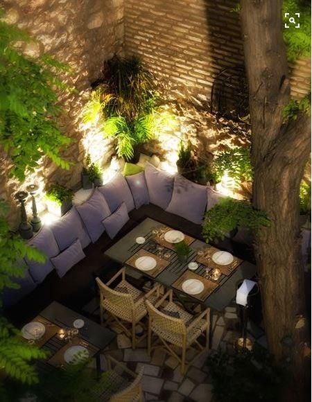 Iluminación De Terrazas Y Jardines Para Fiestas Que Enamoran