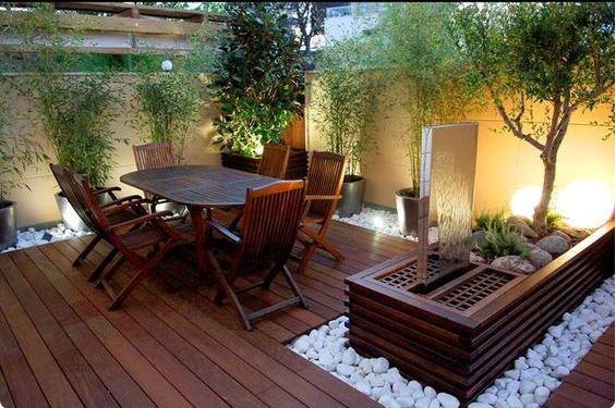 Iluminaci n de terrazas y jardines para fiestas que for Casas para terrazas