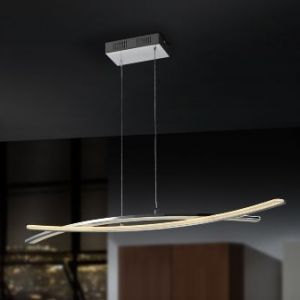 lampara techo led linur salon