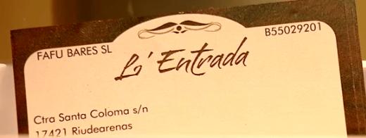 hotel la entrada barcelona