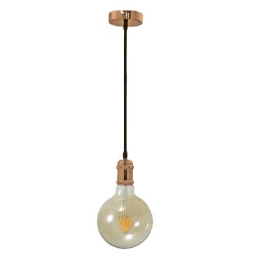 lampara de techo retro
