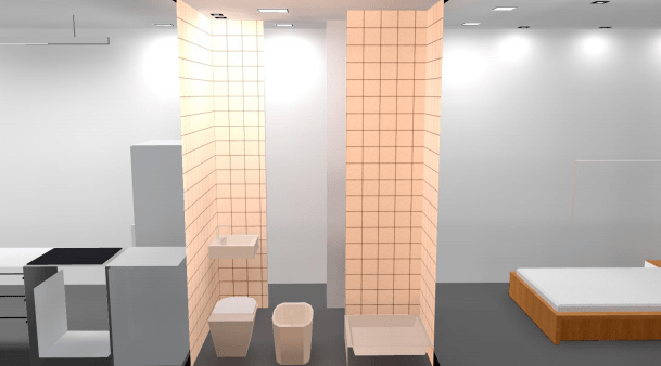iluminacion banos casa contenedor 2