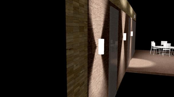 iluminacion exterior casa contenedor