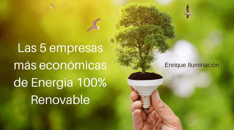 empresas renovables economicas